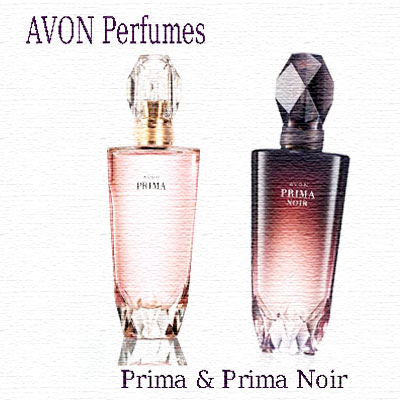 Perfume Prima and Prima Noir by Avon