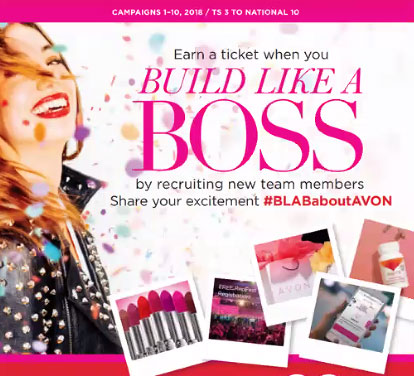 Build your Avon business like a boss.