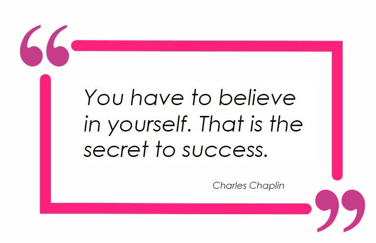 Determination, Consistency and Believe In Yourself!