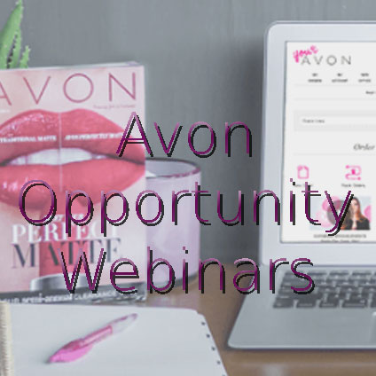 Stay informed with Avon's opportunity webinars