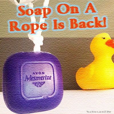 Avon's soap on a rope is back