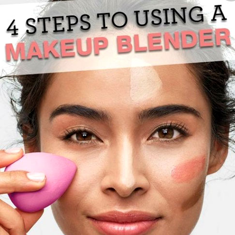 How to use a make-up blender
