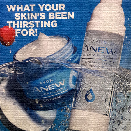 Anew Hydra Fusion skin care products