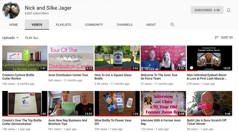 Watch Nick and Silke Jager videos