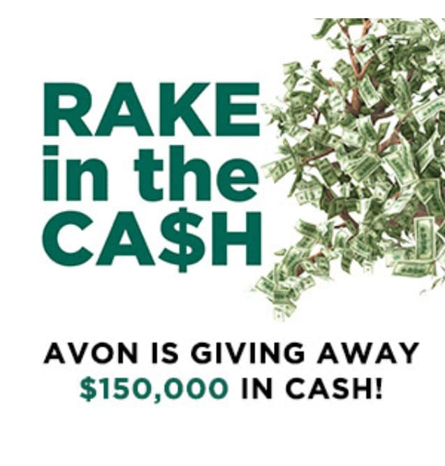 Avon is giving away cash