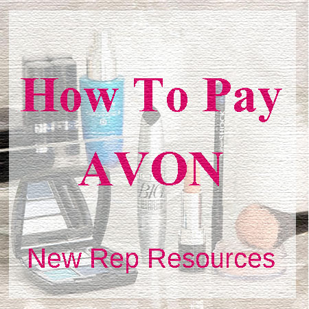 New Rep Resources - Learn how to pay Avon