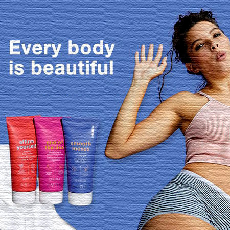 New body care products for women