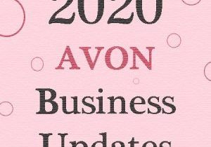 Avon business changes for 2020